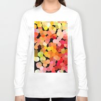 confetti Long Sleeve T-shirts featuring Confetti by Rosie Brown