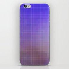 Pixel Purple iPhone & iPod Skin