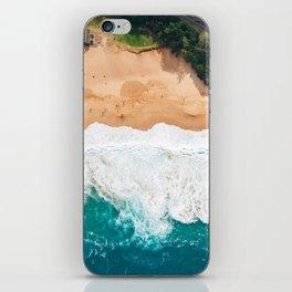Waimea Bay Aerial iPhone Skin