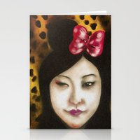minnie Stationery Cards featuring minnie by NAME THEGREY