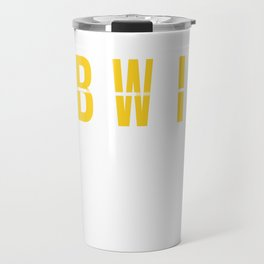 BWI - Baltimore Airport Maryland Airport Code Souvenir or Gift Design  Travel Mug