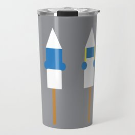 Popsicle Smurfs Travel Mug