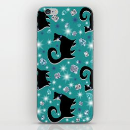 FABULOUS FELINES iPhone Skin