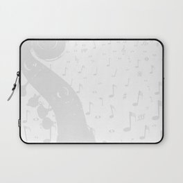 Classical Music Background Laptop Sleeve