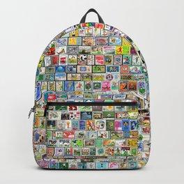 Soccer Stamps Backpack