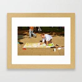 Local Art Framed Art Print