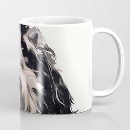 Labradoodle pop art portrait Coffee Mug