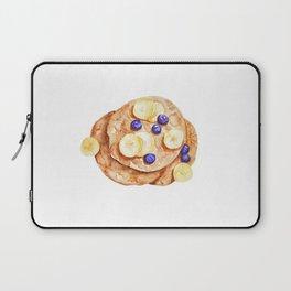 Pancakes breakfast Watercolor Laptop Sleeve