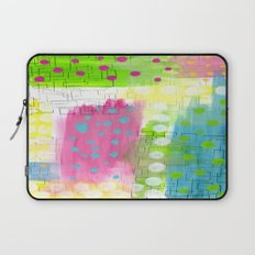 Polk-A-Dotted Background Laptop Sleeve