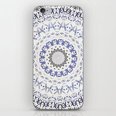 FESTIVAL SUMMER - FADED BLUE iPhone Skin
