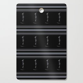 Black on Black Lab Cutting Board