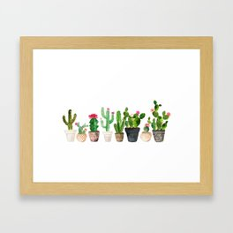 Cactus Gerahmter Kunstdruck