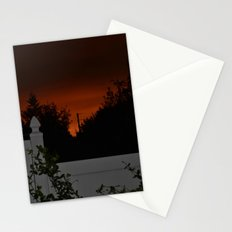 Blood  Red Sky Stationery Cards