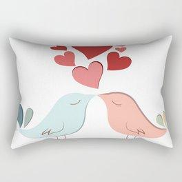 Bird lovers Rectangular Pillow