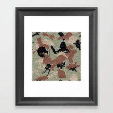 Endor Battle Camo Framed Art Print