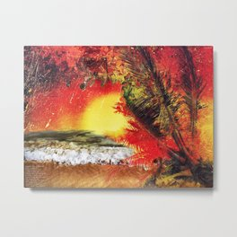 This Paradise Amiss Metal Print
