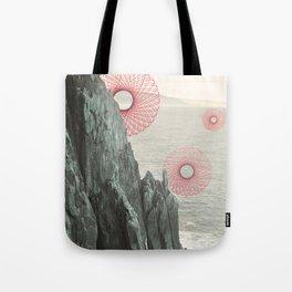 Spirograph Neahkahnie Headland Spires Tote Bag