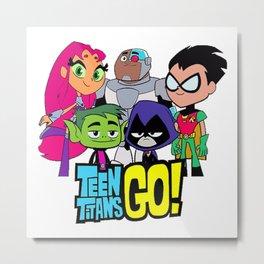 Teen Titans GO Metal Print
