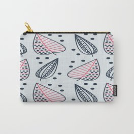 Geometric Leaves Pattern 1 Carry-All Pouch