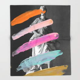 Castrophia Throw Blanket