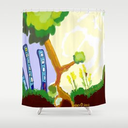 GooRu Shower Curtain