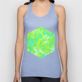 Grunge Art Floral Abstract G170 Unisex Tank Top