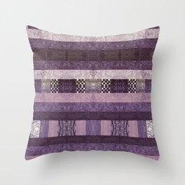 Quilt Top - Antique Twist Throw Pillow