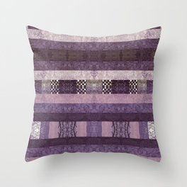 Quilt Top - Antique Twist Throw Pillow