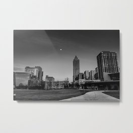 Atlanta Cityscape Metal Print