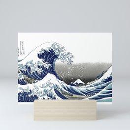 Vintage Great Waves at Kanagawa by Hokusai Mini Art Print