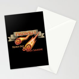 D&D - Fireballs Stationery Cards