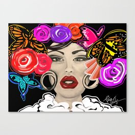 Anything For Selenas Canvas Print