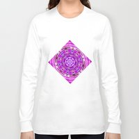 carousel Long Sleeve T-shirts featuring Carousel by Elena Indolfi