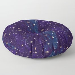 Night of a Thousand Moons Floor Pillow