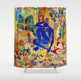 Matisse el Henri Shower Curtain