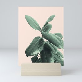 Ficus Elastica #25 #SummerVibes #foliage #decor #art #society6 Mini Art Print