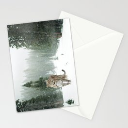 Leopard persian Stationery Cards