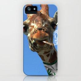 giraffe 4 iPhone Case