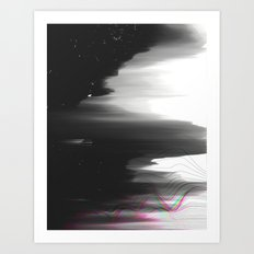 Out of Range Art Print