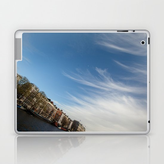 Feathery Clouds Laptop & iPad Skin
