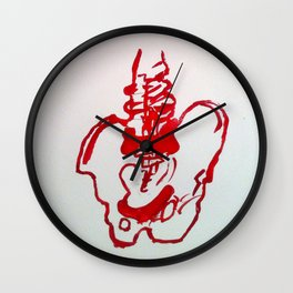 Spinal  Wall Clock