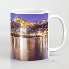 Porto at night Portugal Coffee Mug