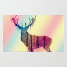 Deer colorful Rug