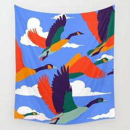 High On Life #illustration #wildlife Wall Tapestry