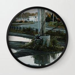 Roadway Reflections Wall Clock