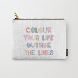 Colour Your Life Carry-All Pouch