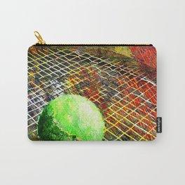 Tennis art print work vs 9 Carry-All Pouch