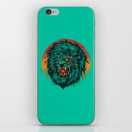 Zombie Lion iPhone Skin