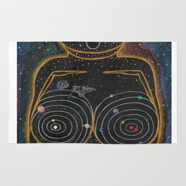 Dreams of Trappist-1 (Past the Outer Rings) Rug