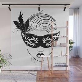 masquerade Wall Mural